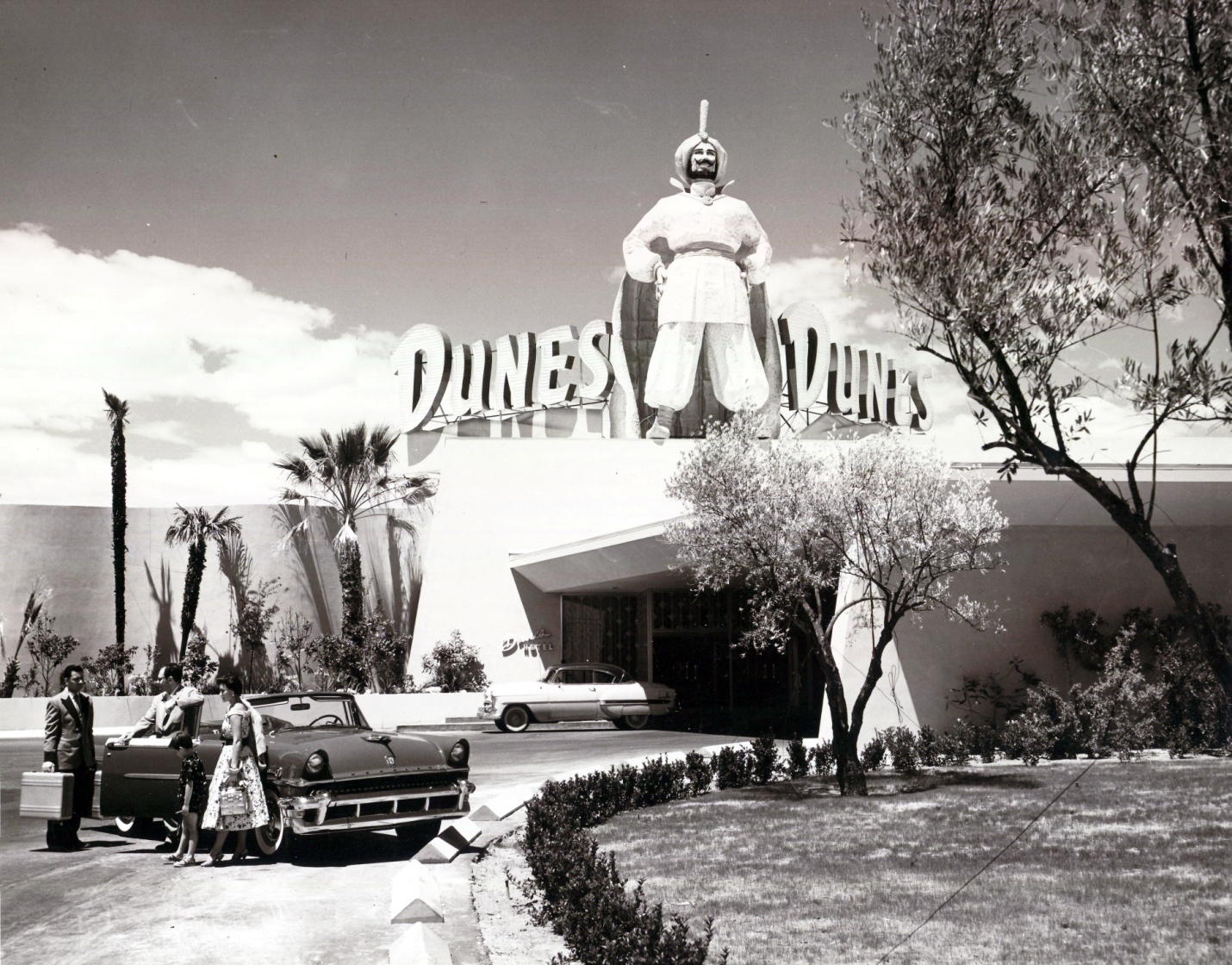 The Dunes Hotel and Casino, 1950s (courtesy of UNLV special collections)